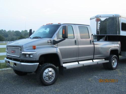 gmc topkick 4x4 monroe conversion pickup truck 2006 for barter trade and swap colt 39 s neck nj. Black Bedroom Furniture Sets. Home Design Ideas